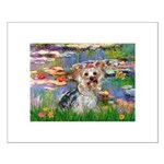 LILIES / Yorkie (T) Small Poster
