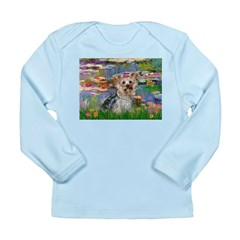 LILIES / Yorkie (T) Long Sleeve Infant T-Shirt