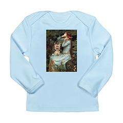 Ophelia's Yorkie (17) Long Sleeve Infant T-Shirt