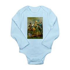 Spirit 76 / Yorkie Long Sleeve Infant Bodysuit