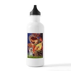 Angel 3 - Yorkshire Terrier Water Bottle