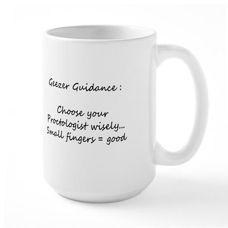 Large Geezer Guidance Mug #2