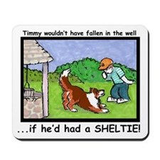 Timmy in the well Mousepad