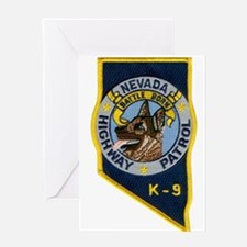 Nevada Highway Patrol K9 Greeting Card