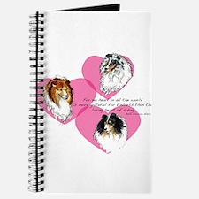 Sheltie Hearts Journal