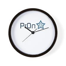 Pron Star Wall Clock
