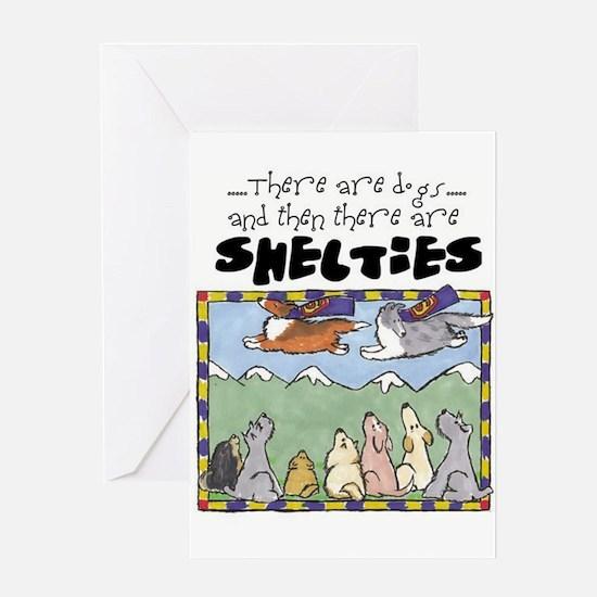 Super Shelties Greeting Card