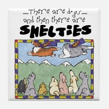Super Shelties Tile Coaster