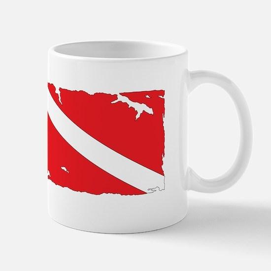 Cute Scuba dive flag Mug