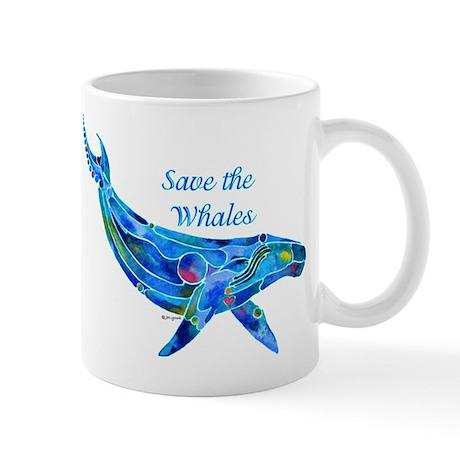 Humpback Save the Whales Mug