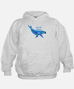 Humpback Save the Whales Hoodie