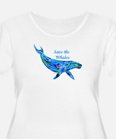 Humpback Save the Whales T-Shirt