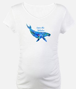 Humpback Save the Whales Shirt