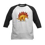 Stegosaurus Kids Baseball Jersey