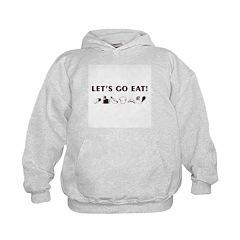 Jewish - Let's Go Eat - Hoodie