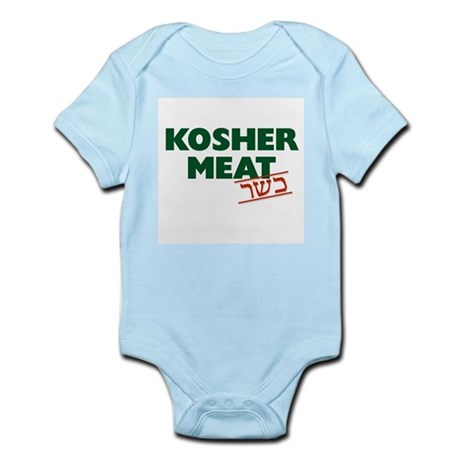 Jewish - Kosher Meat! - Infant Creeper