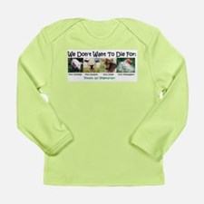 Animal Voices Infant Long Sleeve T-Shirt