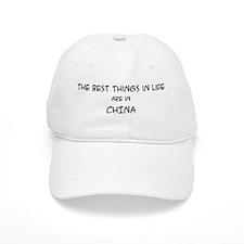 Best Things in Life: China Baseball Cap