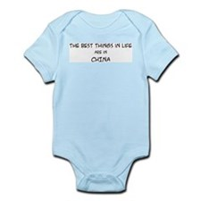 Best Things in Life: China Infant Creeper