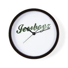 Jewish - JewBoyz - Wall Clock