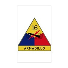 Armadillo Decal