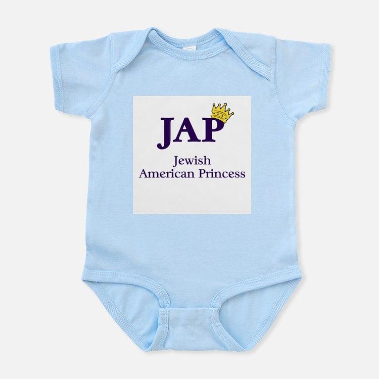 Jewish American Princess - JAP - Infant Creeper