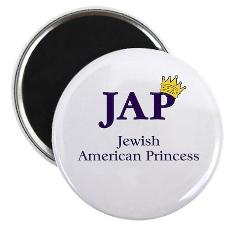 "Jewish American Princess - JAP - 2.25"" Magnet (100"