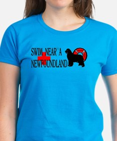 Swim Near A Newfoundland Tee