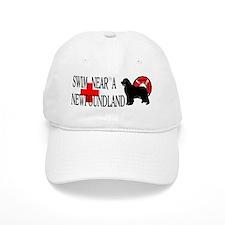 Swim Near A Newfoundland Baseball Cap