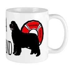 Swim Near A Newfoundland Mug