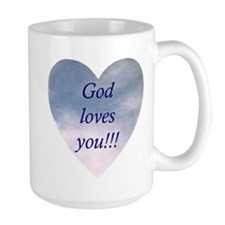 """God Loves You"" Mug"