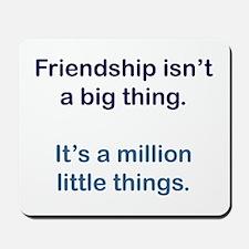 Friendship is Mousepad