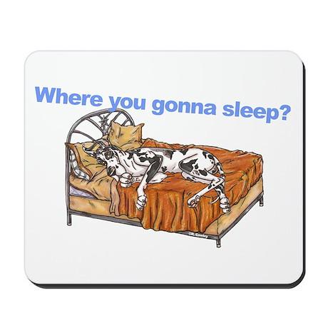 CH Where you gonna sleep Mousepad