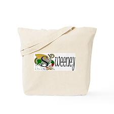 Sweeney Celtic Dragon Tote Bag