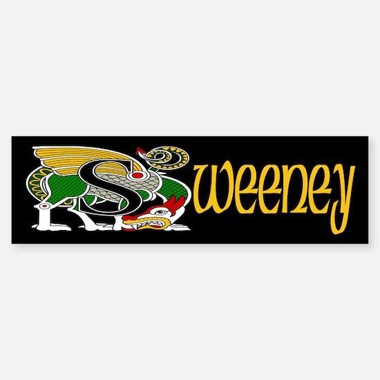 Sweeney Celtic Dragon Bumper Bumper Bumper Sticker