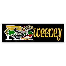 Sweeney Celtic Dragon Bumper Bumper Sticker