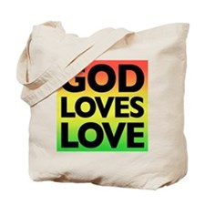 God Loves Love Tote Bag