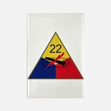 22nd AD Rectangle Magnet