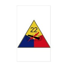22nd AD Decal
