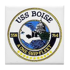 USS Boise SSN 764 Tile Coaster