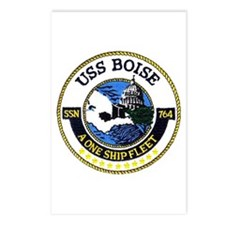 USS Boise SSN 764 Postcards (Package of 8)
