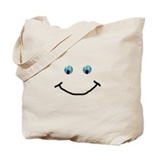 Happy Smiley Earth Tote Bag