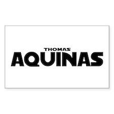 Thomas Aquinas Decal