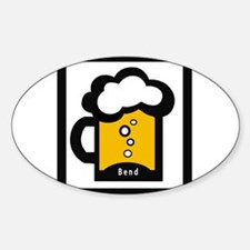 Bend Beer Oval Decal