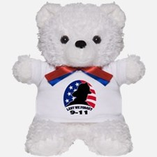Remember 9-11 Fireman Teddy Bear