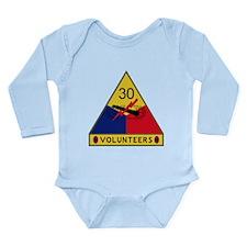Volunteers Long Sleeve Infant Bodysuit