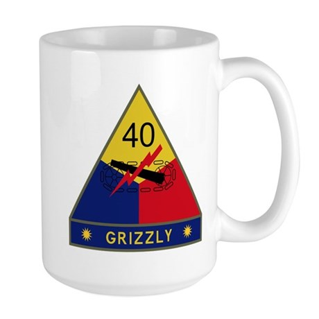 Grizzly Large Mug