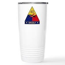 Grizzly Travel Coffee Mug
