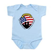 9-11 wtc building Infant Bodysuit