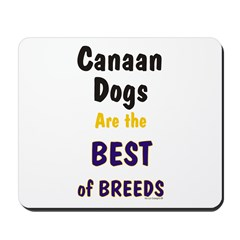 Canaan Dog Best Breed Mousepad